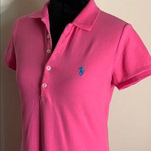 Ralph Lauren Sport Pink Polo Dress M
